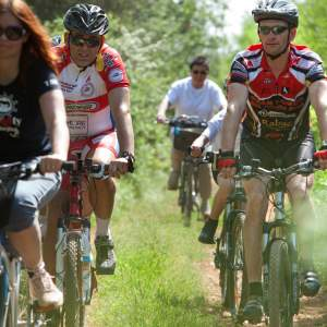 RECREATIONAL PARENZANA Mountain biking and hiking