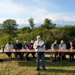 Literarisches Treffen bei Badavca