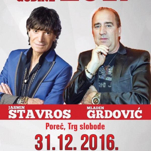 Mladen Grdović e Jasmin Stavros per un fantastico Capodanno!