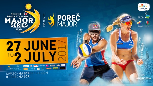 FIVB Beach Volleyball World Tour 2017: Poreč Major Series