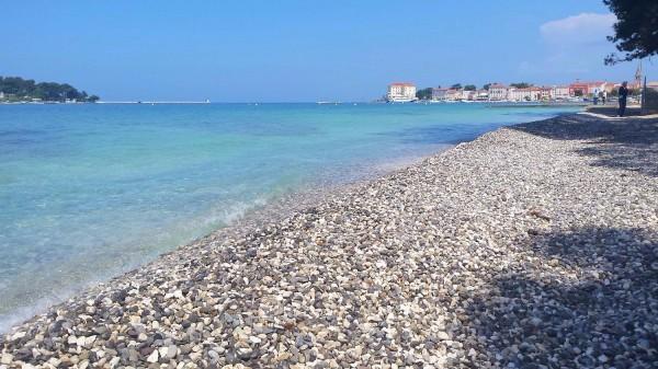 Beaches in Poreč