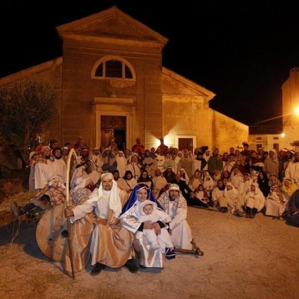 Live Nativity Scene
