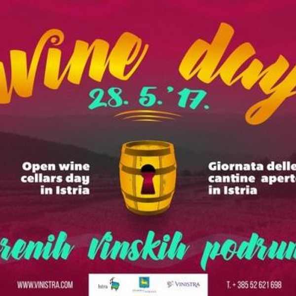 Open wine cellars day in Istria 28th May