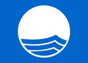 Blaue Flagge - internationale Auszeichnung für die Reinheit des Meeres und der Küste