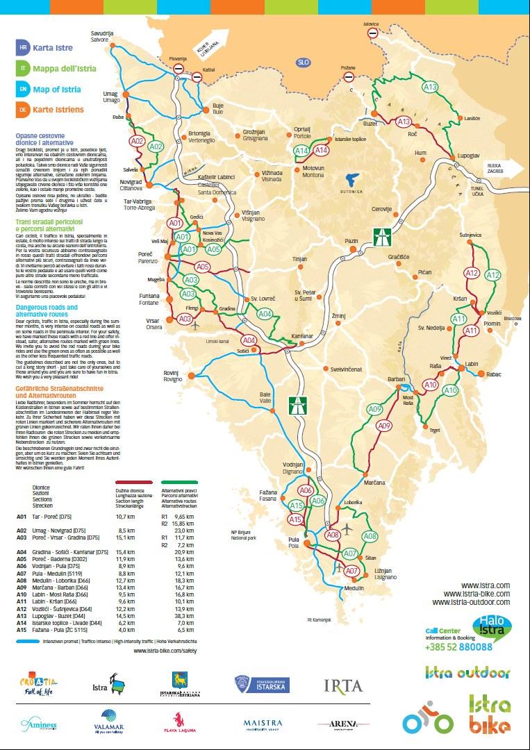 Istrien Karte Zum Ausdrucken.Broschuren Porec Istrien Das Offizielle Tourismusportal