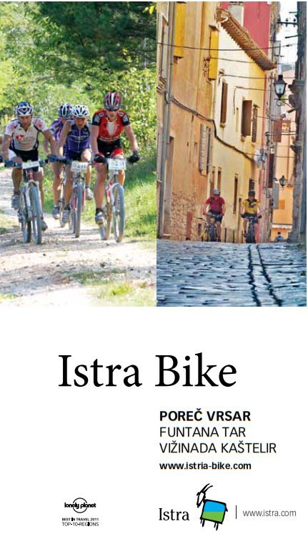 Istra Bike I Map