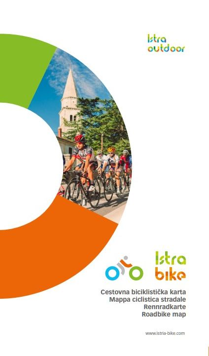 Istra Bike I Roadbike map