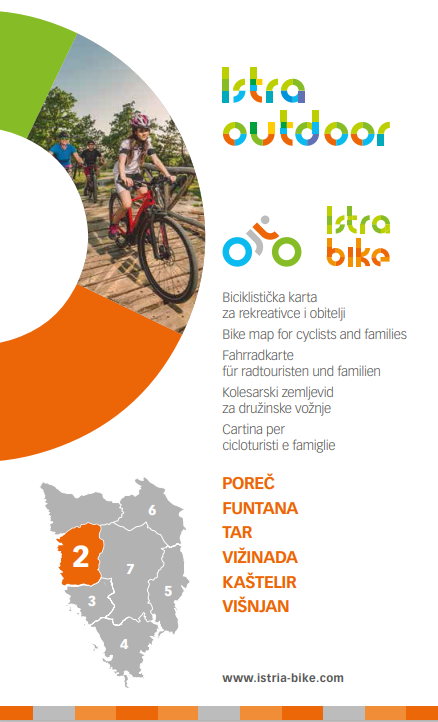 Bike: Map for cyclists and families