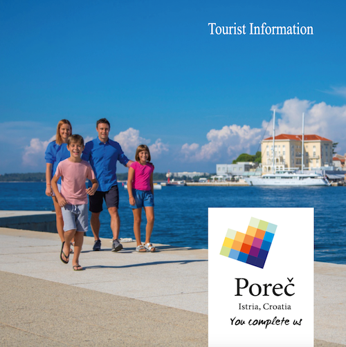 Poreč I Detailed tourist guide for your Poreč holidays