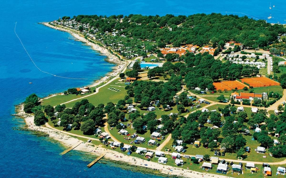 Naturist camping ulika červar (poreč kroatien