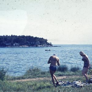 Development of the bathing suit