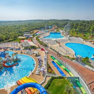 """Aquapark """"Istralandia""""-No.1 Aquapark in Croatia"""