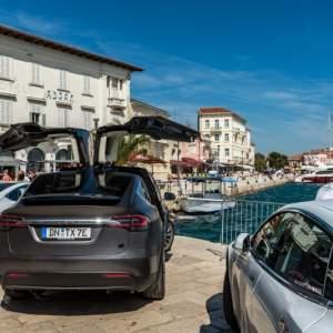 Nikola Tesla EV Rally