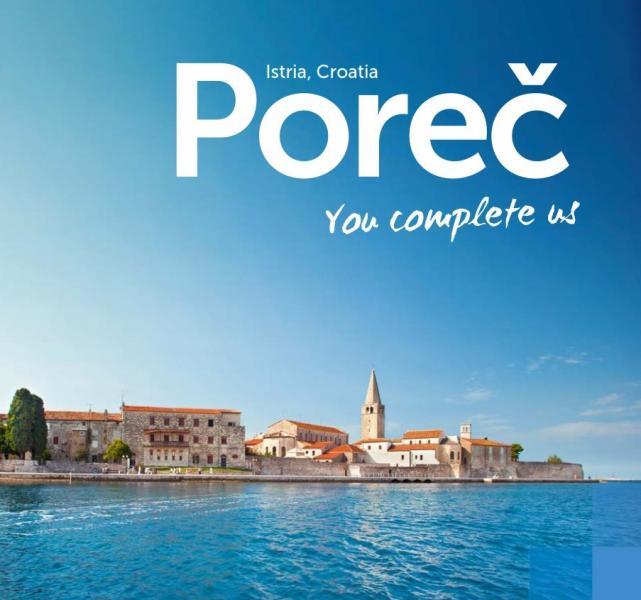 Maps of Poreč and Istria