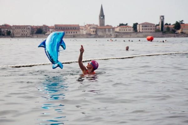Poreč Delfin - rekreativer Schwimm- Marathon