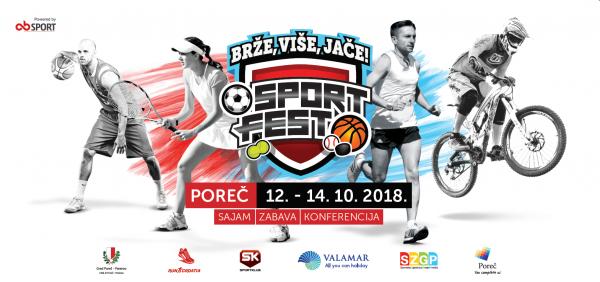 SPORT FEST POREČ 12.-14.10.2018.