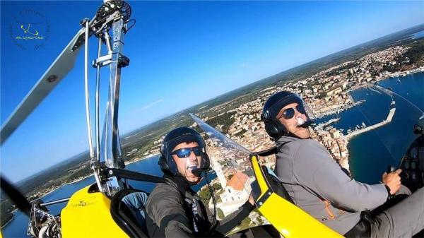 Gyrocopter flight