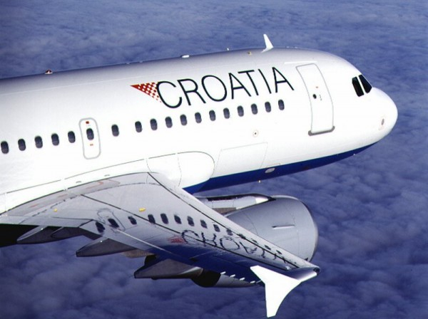 Arriving in Poreč by plane