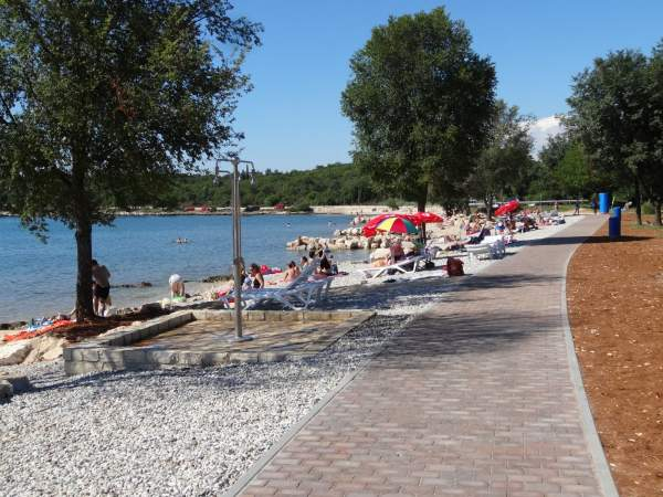 The Materada North beach