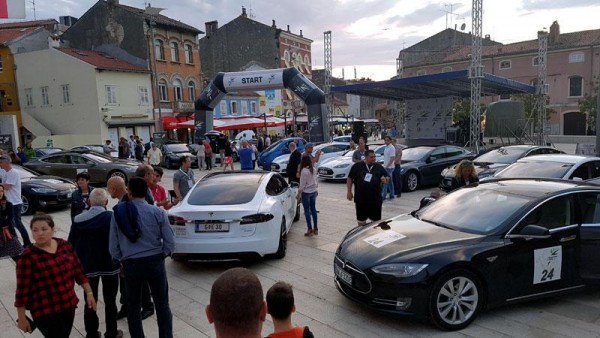 Nikola Tesla EV Rally Croatia 2017