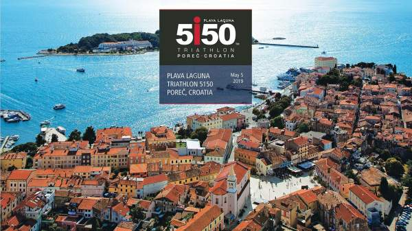 Plava Laguna triatlon 5150 Poreč, Hrvatska