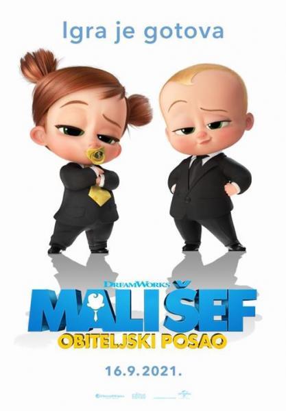 Kino: Mali šef - Obiteljski posao - sinkronizirano