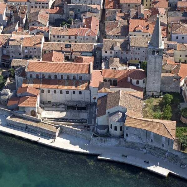 Poreč's rich old city