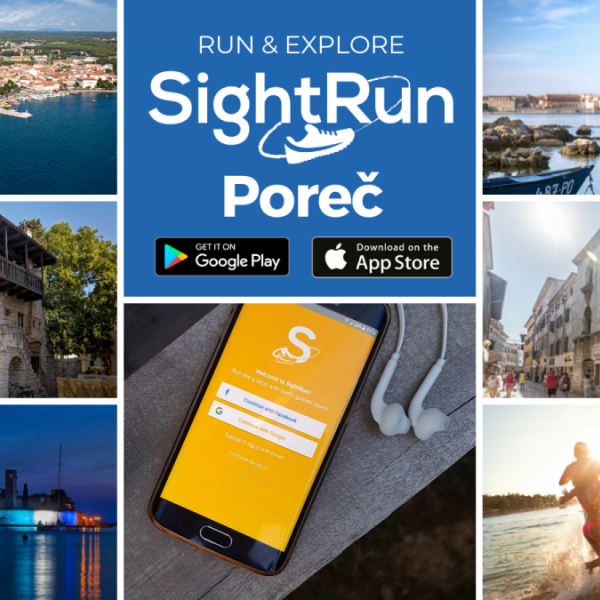 Discover Poreč running with SightRun