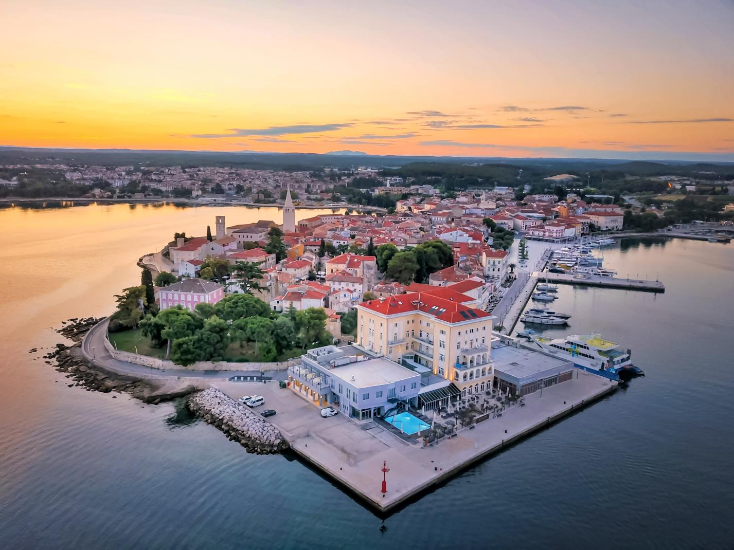 Poreč I Istrien I Kroatien